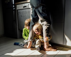 Children who constantly cry out for attention often cry when they don't get it. A table where you work, eat and spend time with your children. Blurred photos, damaged things are the consequence