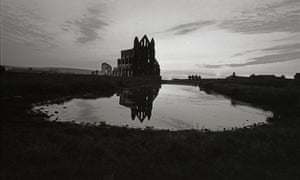 Whitby Abbey ay sunset, 1984