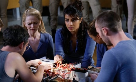 'People think I had this big plan to break America but I never did': as Alex Parrish in Quantico.