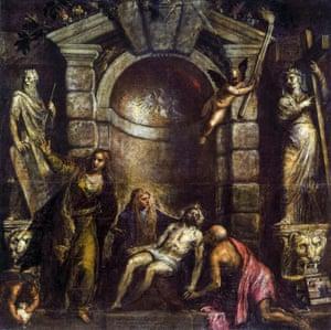 Titian, Pieta, 1576