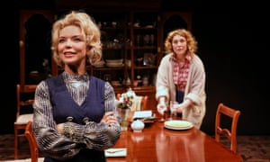 Danielle Carter and Matilda Ridgway in Table Manners