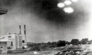 UFOs, maybe, over Salem, Massachusetts in 1952. Snopes began as a site to explore urban legends. Photograph: Popperfoto