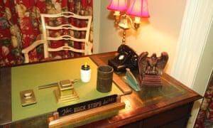 Inside former US president Harry Truman's winter home.