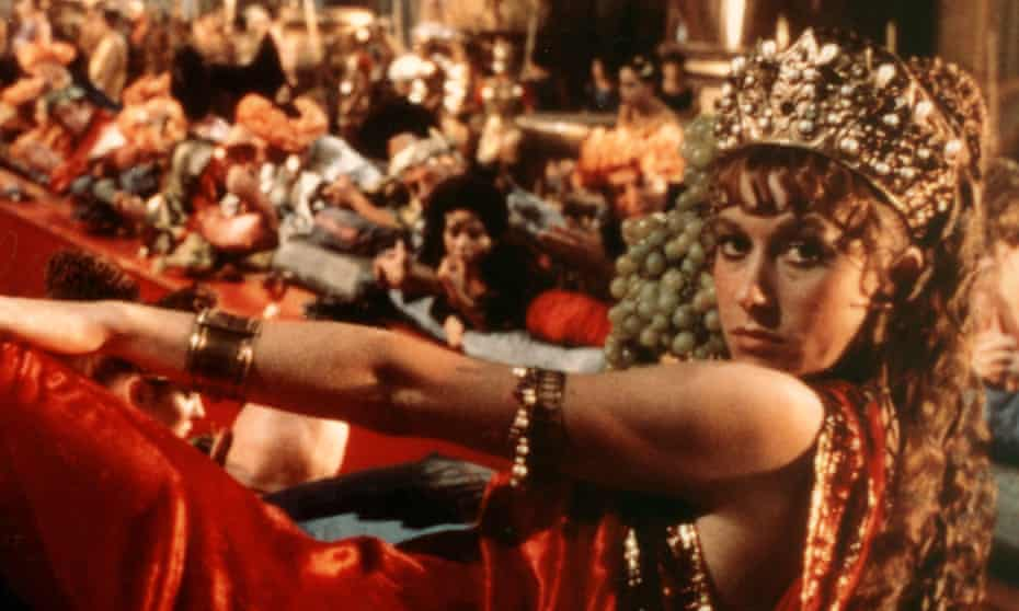Imperious … in Caligula in 1979.