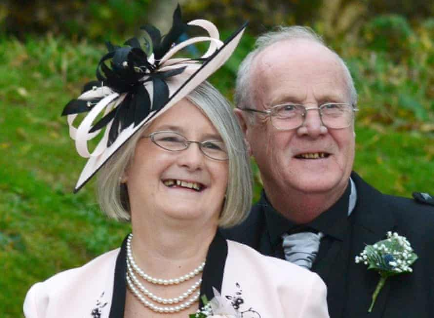 Jim and Ann McQuire, from Cumbernauld, North Lanarkshire