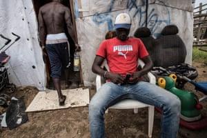 Thierno's friend Osmane.