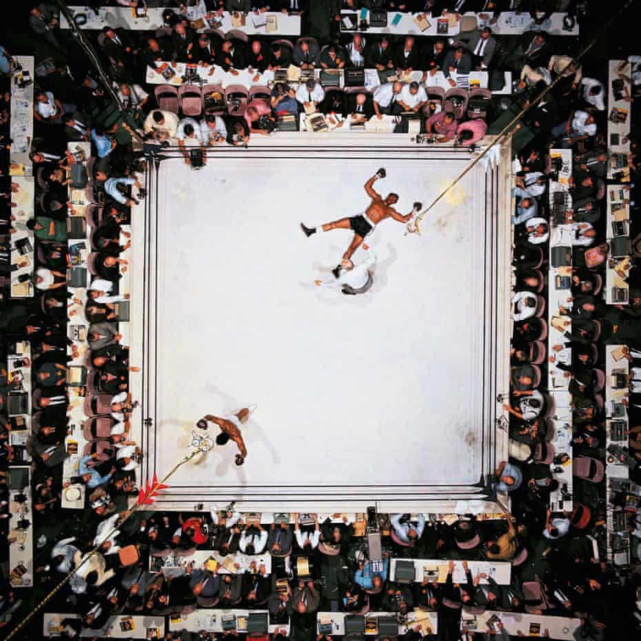 'If Williams had fallen a yard to his right, it would have been a lousy shot' ... Ali v Williams at the Houston Astrodome in November 1966.