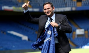 Frank Lampard's first game in charge of Chelsea is in Dublin.