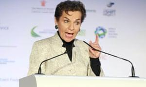 Christiana Figueres speaks in London