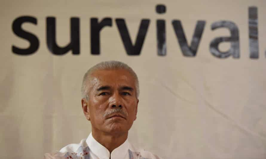 'How can you justify being part of a family and part of a group which you're trying to destroy?': former Kiribati president Anote Tong.