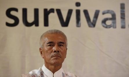 Kiribati's former president Anote Tong