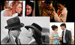 From clockwise: The War of the Roses, Happy Together, (500) Days of Summer and Casablanca