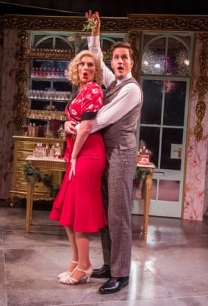 Katherine Kingsley and Dominic Tighe in She Loves Me.