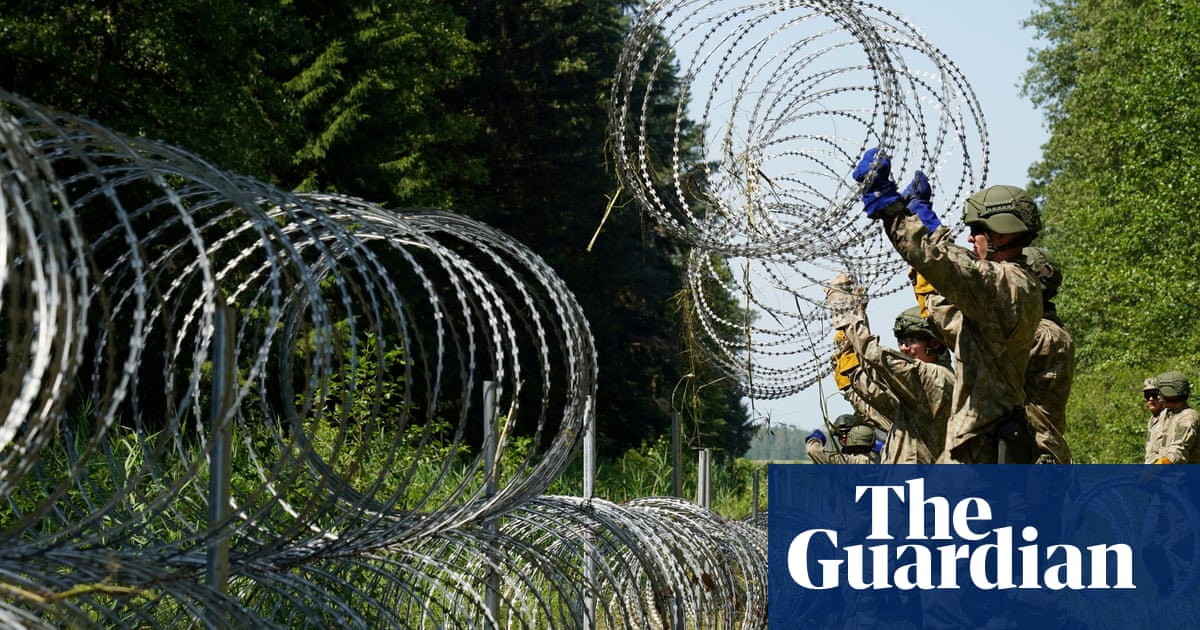 Latvia and Lithuania act to counter migrants crossing Belarus border