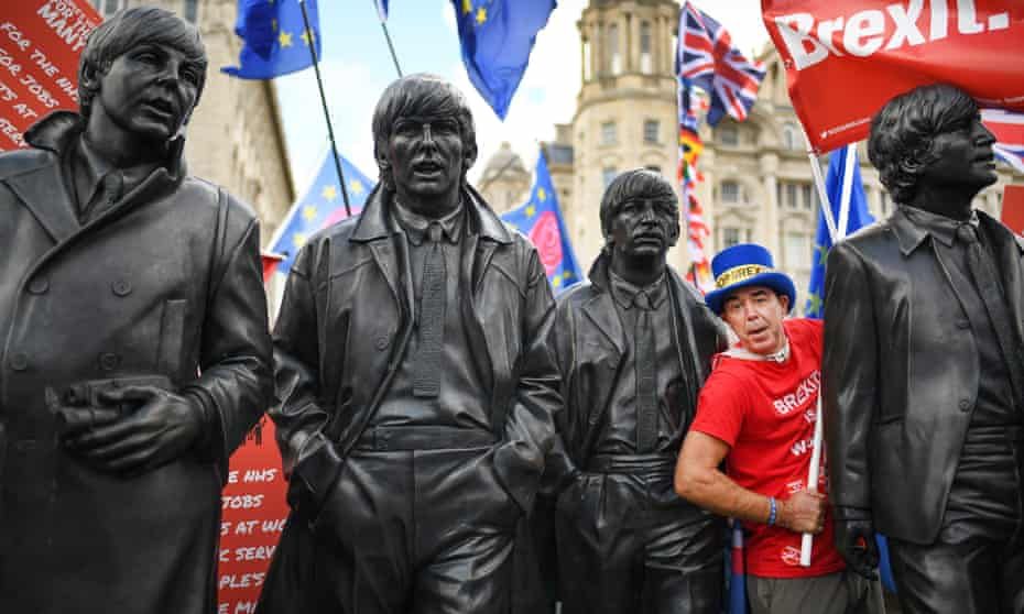 An anti-Brexit march in Liverpool, September 2018.