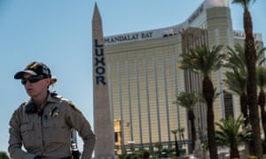 The Mandalay Bay hotel from which Stephen Paddock launched his murderous attack in Las Vegas.
