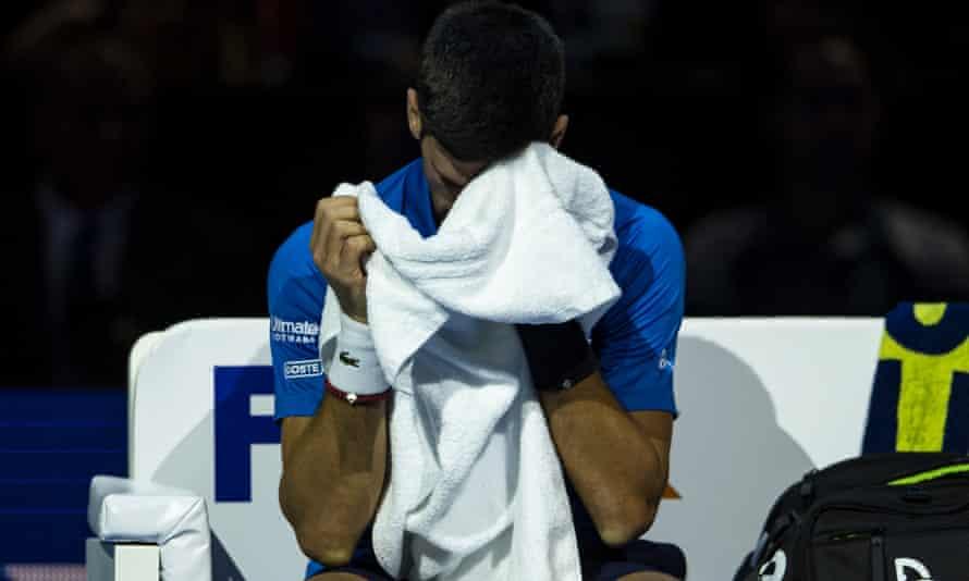Novak Djokovic was outclassed on the day.