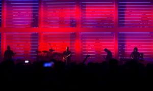 New Order at Old Granada Studios.