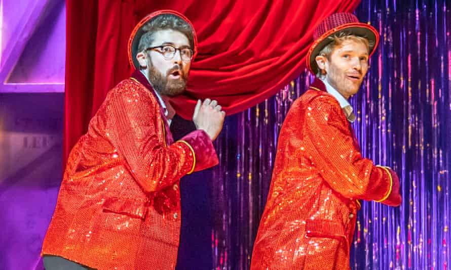 Ben Ashenden and Alex Owen at the Noël Coward theatre, London.