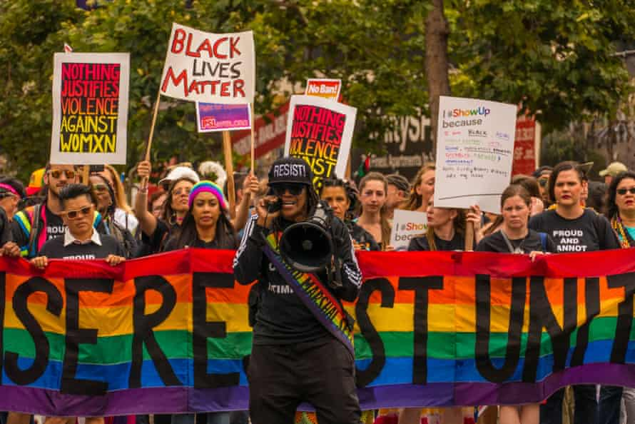 """Rise, Resist, Unite,"" 2017; photograph by Lenore Chinn"