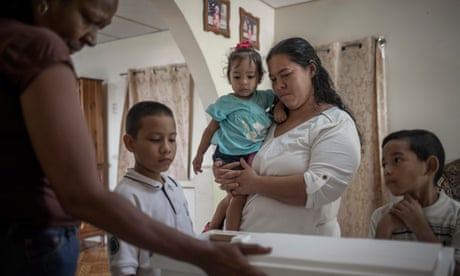 'It's a pain you will never overcome': crisis in Venezuela as babies die of malnutrition