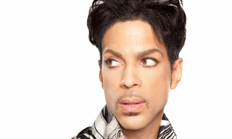 Prince circa 2010, when he recorded Welcome 2 America.