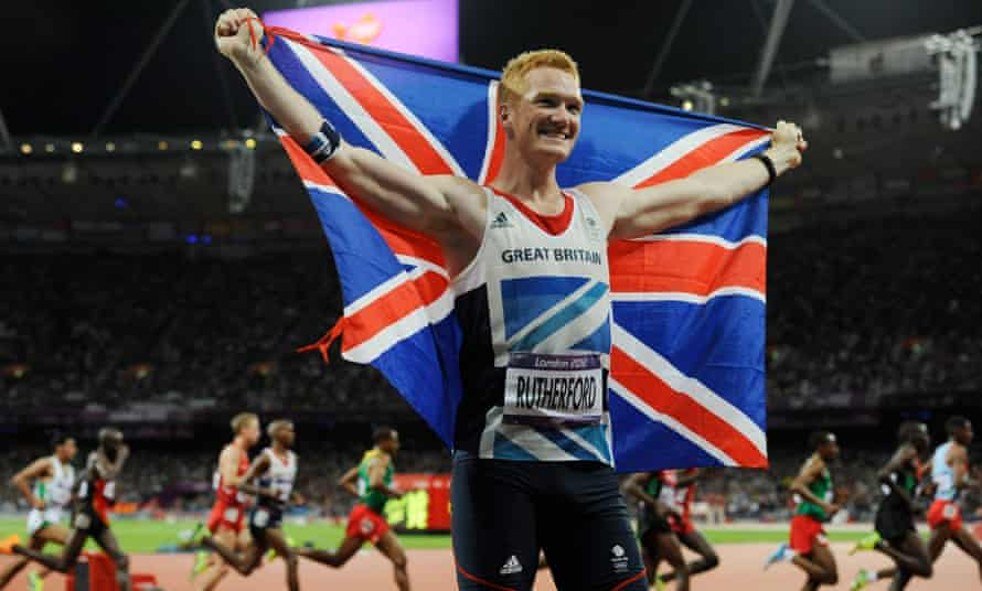 Greg Rutherford won gold at London 2012 but was accused on social media of fluking his way to the Olympic title