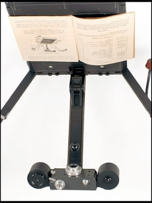 Motor-driven document copying camera.