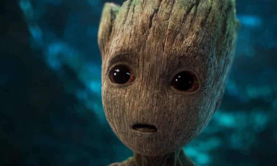 Screengrab of Baby Groot from Guardians of the Galaxy Vol 2