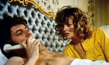 Donald Sutherland and Julie Christie in Nicolas Roeg's most admired film, Don't Look Now, 1973.