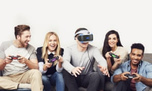 Sony has been keen to stress the ease-of-use and social functionality of the PlayStation VR headset