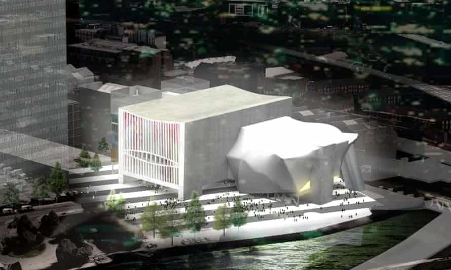 Artist's impression of the Factory cultural centre in Manchester, which got the go-ahead earlier this month.