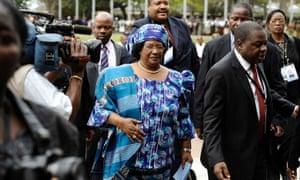 Joyce Banda in 2012.