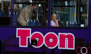 A Toon bus in Newcastle