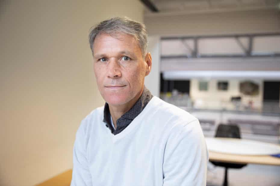 'After a lot of problems with operations I was limping. I couldn't do anything without pain. I was a little afraid,' says Marco van Basten.