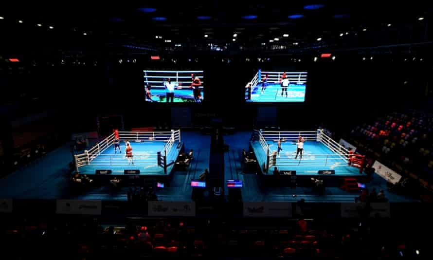 The Olympic boxing qualifying tournament in London featured around 350 fighters from 40 countries.