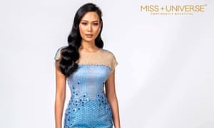 The dress designed by Princess Sirivannavari Nariratana for Miss Universe Thailand 2018.