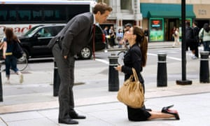 Will you?: with Sandra Bullock in the romcom The Proposal from 2009.