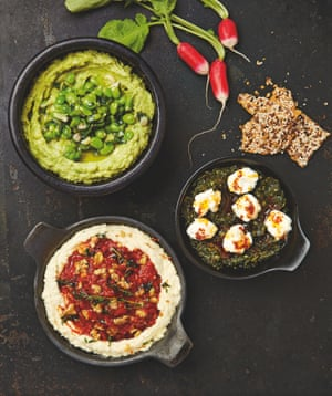 Slam Dunk Yotam Ottolenghis Recipes For Dips Pastes And