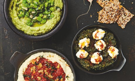 Slam dunk: Yotam Ottolenghi's recipes for dips, pastes and spreads