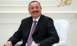 Ilham Aliyev, president of Azerbaijan, is the subject of corruption allegations.