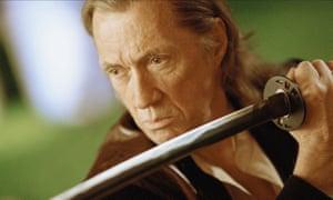 David Carradine in Kill Bill.