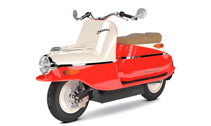 Čezeta e-scooter: 'The rebirth of the chicest communist-era scooter