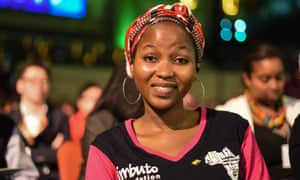 Salissou Hassane Latifa, the 2018 Ms Geek Africa winner