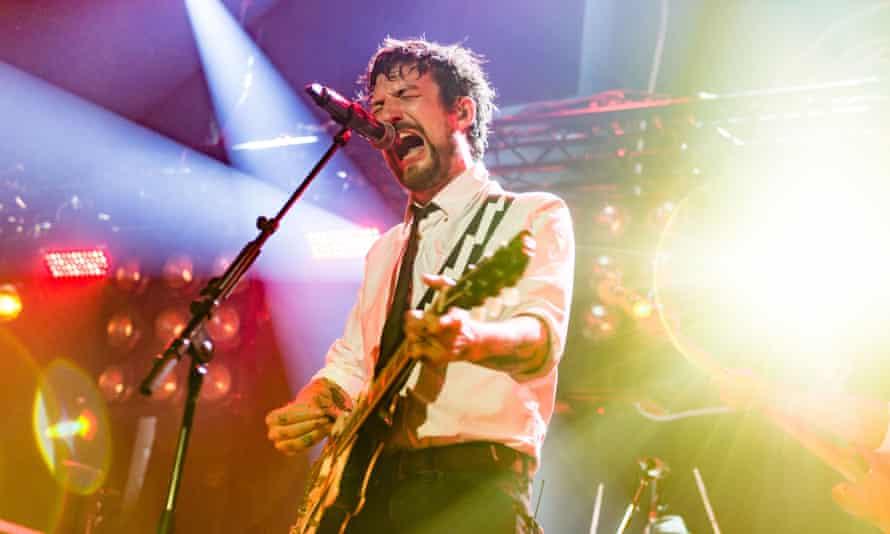 Frank Turner performing in 2018.
