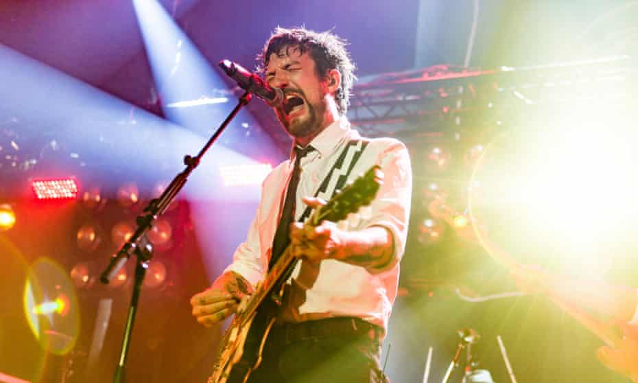 Frank Turner at the Roundhouse, London.