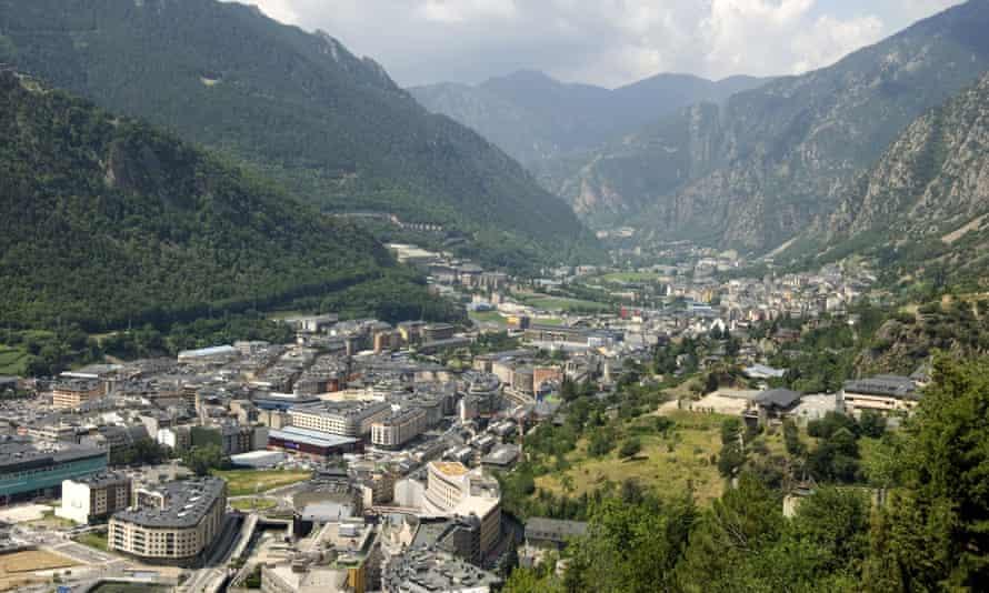 Andorra la Vella, capital of Andorra.