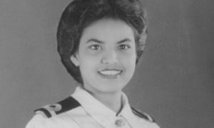 Monica Mathen aged 21 in her naval uniform. She moved to Britain in the 1960s, where she lived for more than 50 years