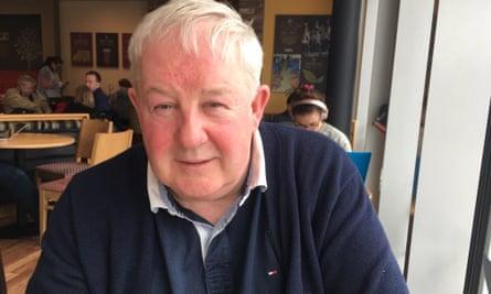 Brian Kenna, chairman of the political party Saoradh, in Dublin
