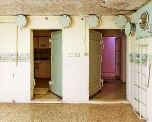 Israel, Kiryat Shmona, Wohnhausanlage